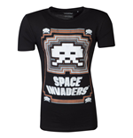 Space Invaders - Glowing Invader Men's T-shirt
