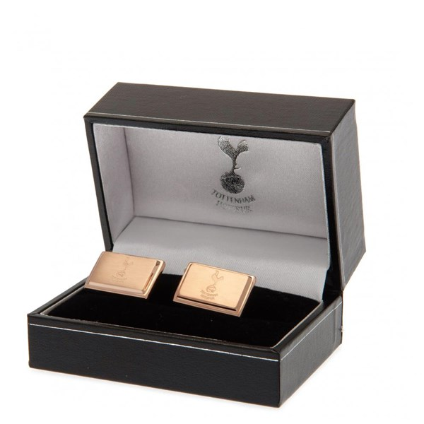 Tottenham Hotspur F.C. Rose Gold Plated Cufflinks
