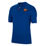 2019-2020 Barcelona Nike Authentic Polo Shirt (Royal)