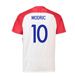 2018-2019 Croatia Home Nike Football Shirt (Modric 10)