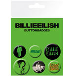 Billie Eilish: Mix Badge Pack