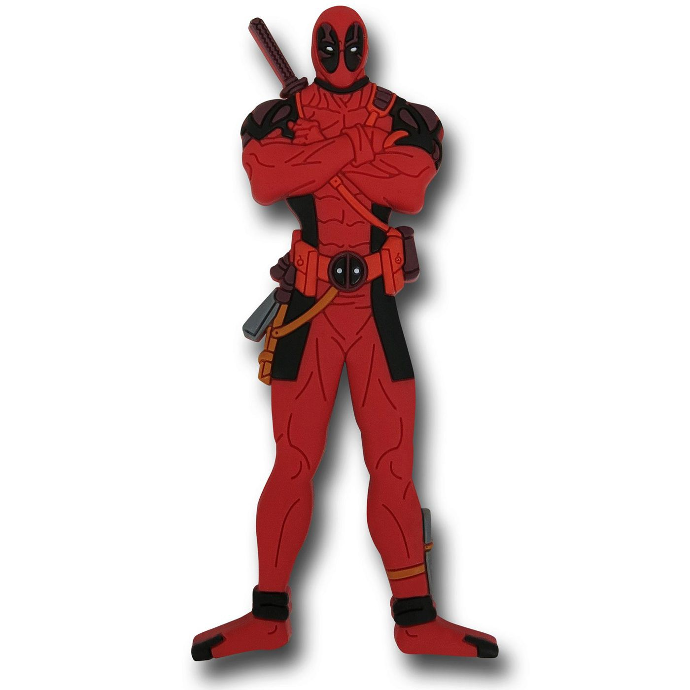 Deadpool Standing Soft Touch Magnet