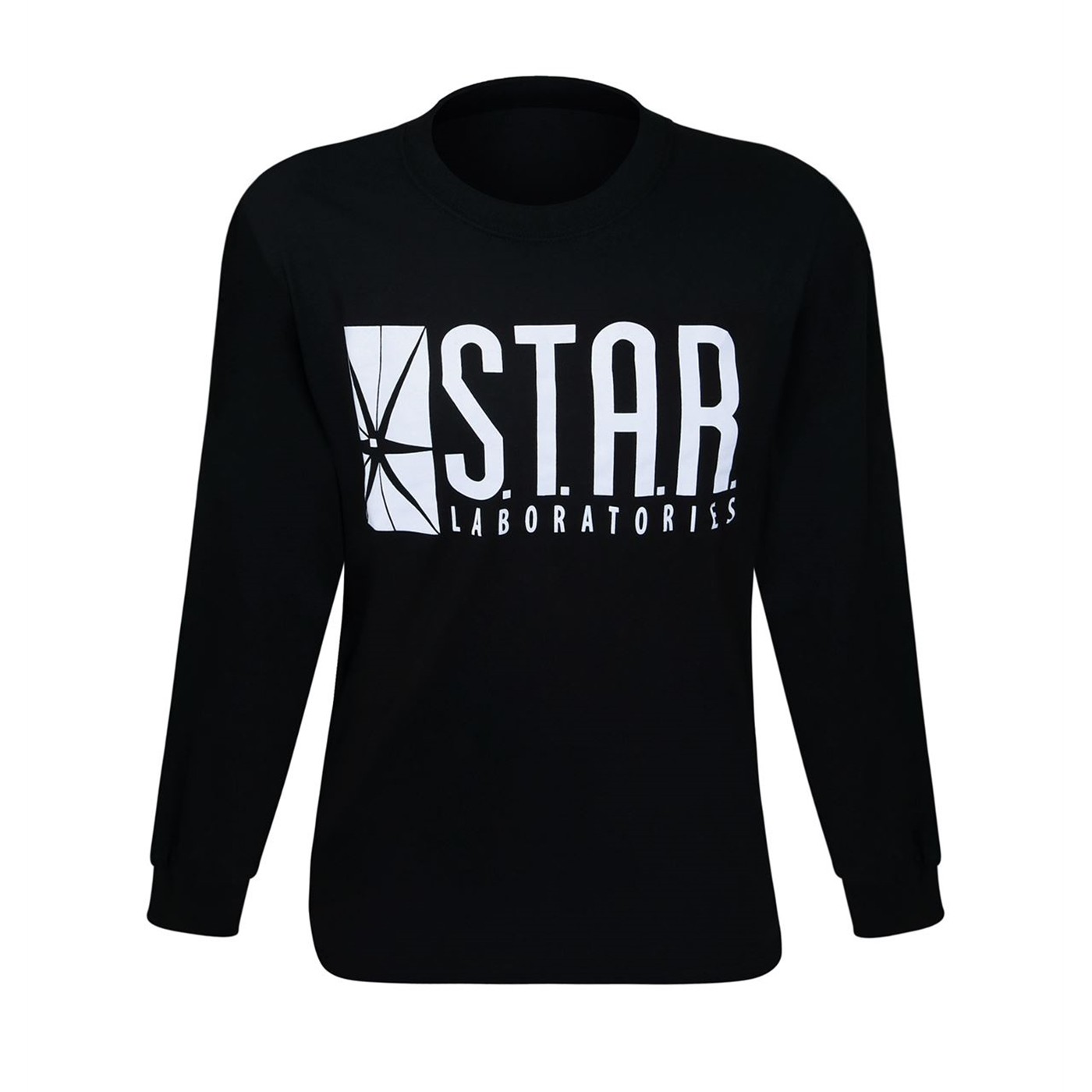 Flash Star Labs Black Long Sleeve T-Shirt