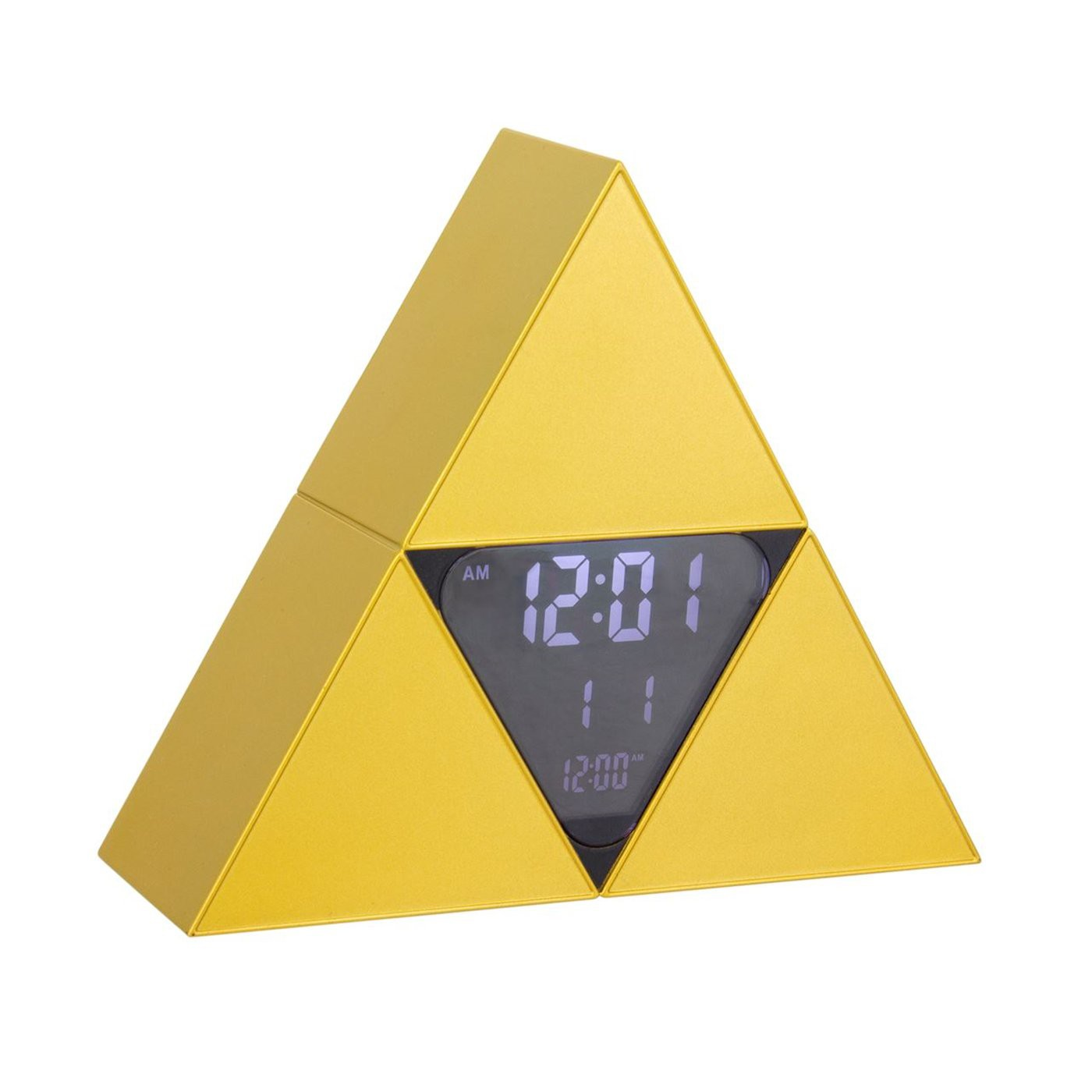 Zelda Tri-Force Alarm Clock