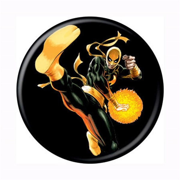 Iron Fist Jump Kick Button