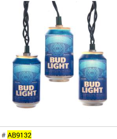 BUD LIGHT STRING LIGHT SET PLACEHOLDER