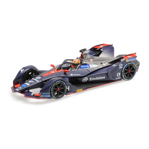 FORMULA E SEASON 5 ENVISION VIRGIN RACING ROBIN FRIJNS