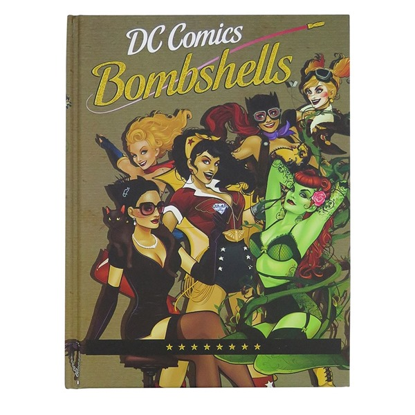 DC Bombshells Hardcover Journal