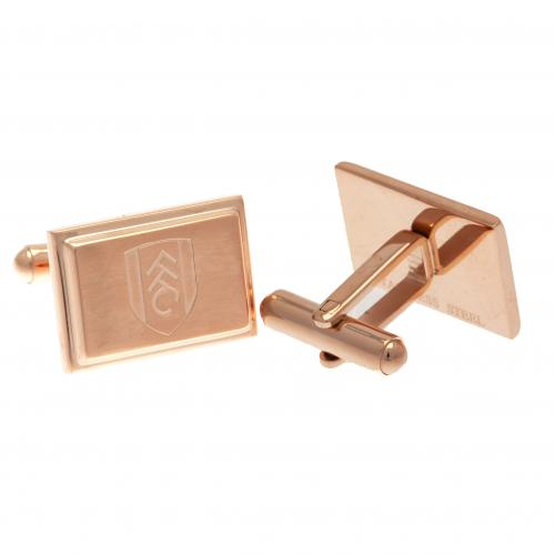 Fulham F.C. Rose Gold Plated Cufflinks