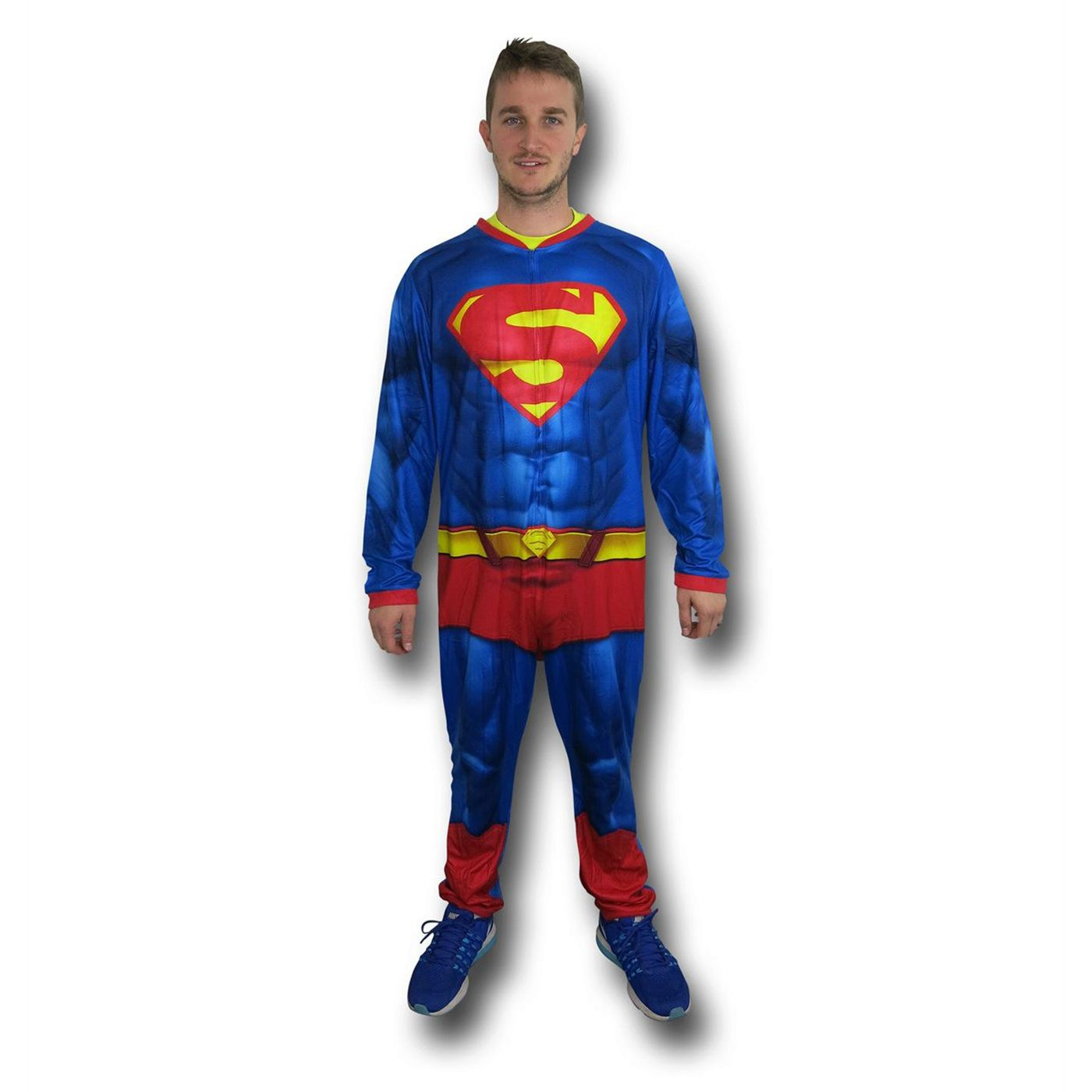 Superman Big Shield Sublimated Union Suit
