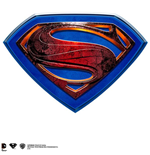 Superman Man Of Steel Wall Plaque Plate