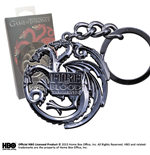 Game Of Thrones Targaryen Sigil Keychain