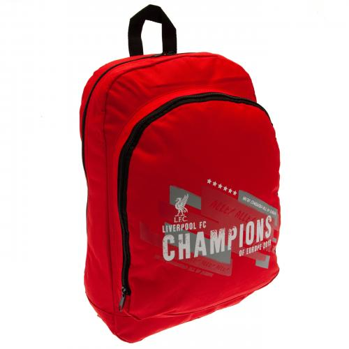 Liverpool F.C. Champions of Europe Backpack