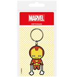 Marvel Kawaii Iron Man Keyring Keychain