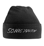 Sonic Youth Cap White Logo (EMBROIDERED)