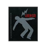 Green Day Patch Lightning Bolt