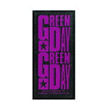 Green Day Patch Purple Logo