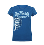 Gas Monkey Garage T-Shirt Tonal Monkey Classic (BLUE)