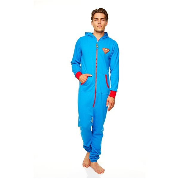 Dc Comics Ex Adult Onesie Superman (JUMPSUIT)