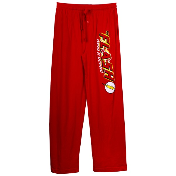 Flash Speed Force Unisex Red Pajama Pants
