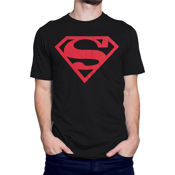 Superboy Red Symbol T-Shirt