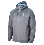 2019-2020 Tottenham Nike Authentic Windrunner Jacket (Grey)