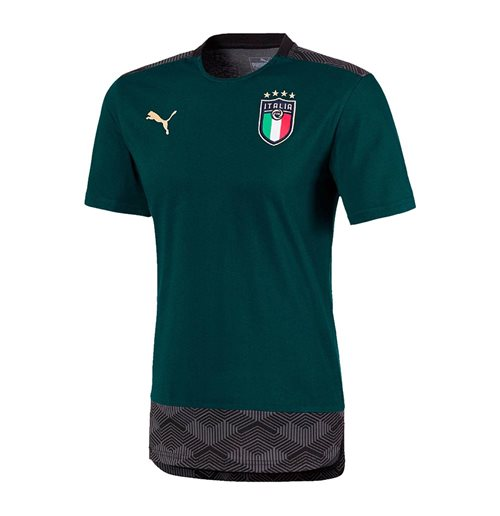 2019-2020 Italy Puma Casuals Performance Tee (Pine)