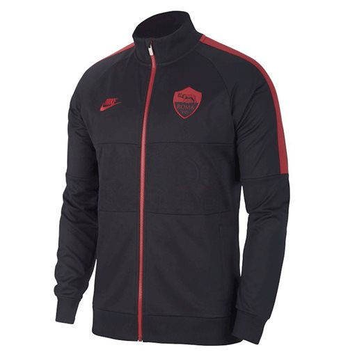 2019-2020 AS Roma Nike I96 Jacket (Black)