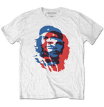 Che Guevara Unisex Tee: Blue and Red