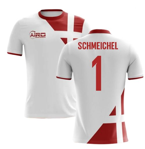 2018-2019 Denmark Away Concept Football Shirt (Schmeichel 1)