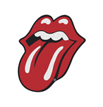 The Rolling Stones Patch Tongue CUT-OUT (PACKAGED)