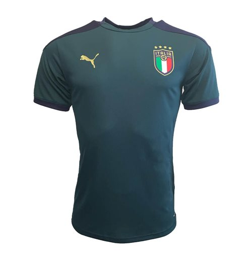 2019-2020 Italy Puma Training Jersey (Pine) - Kids