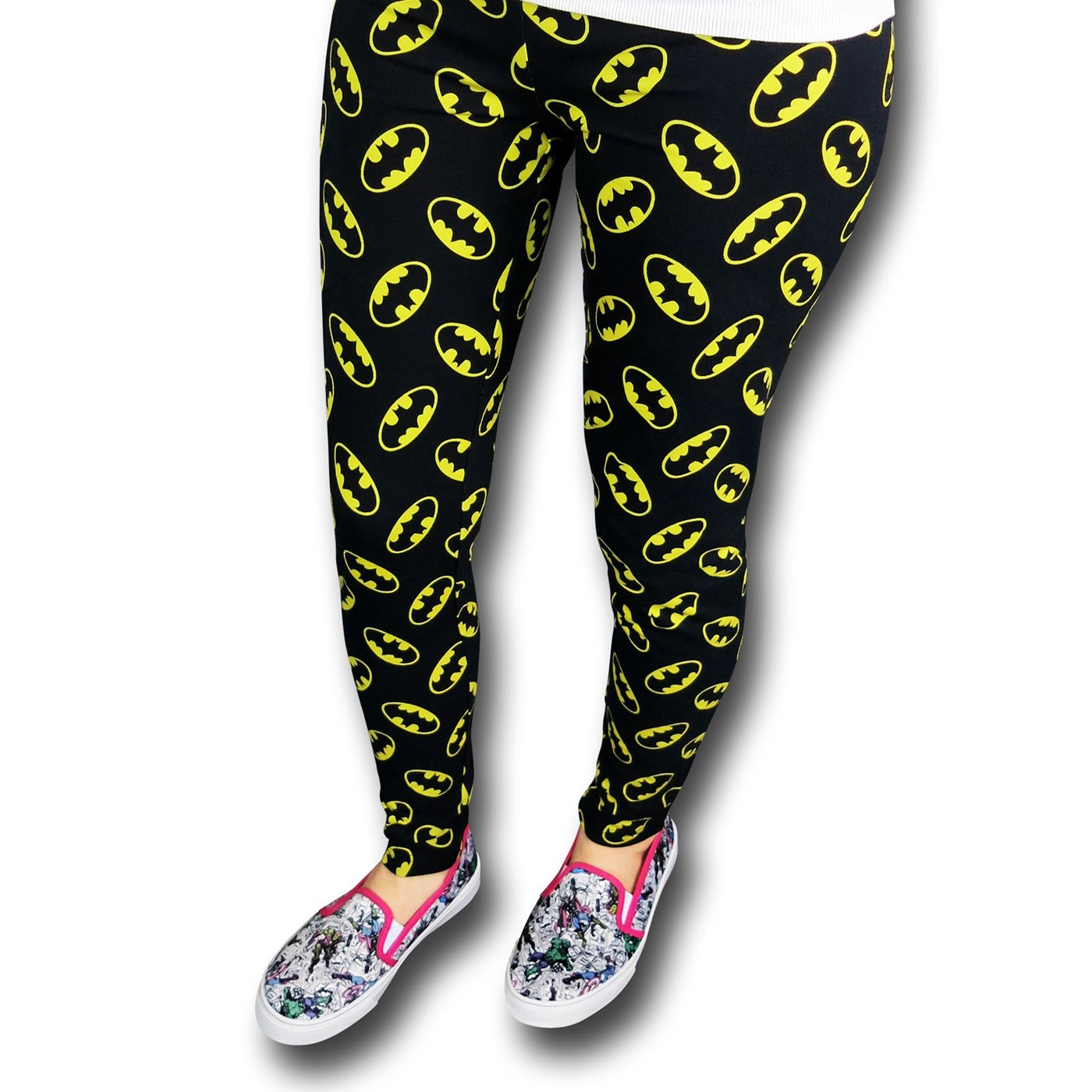 Batman All-Over Print Symbols Leggings