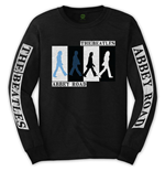 The Beatles Unisex Long Sleeve Tee: Abbey Road Colours Crossing (Arm Print)