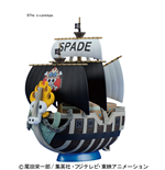 One Piece Grand Ship Coll Spade Pirates Model Kit