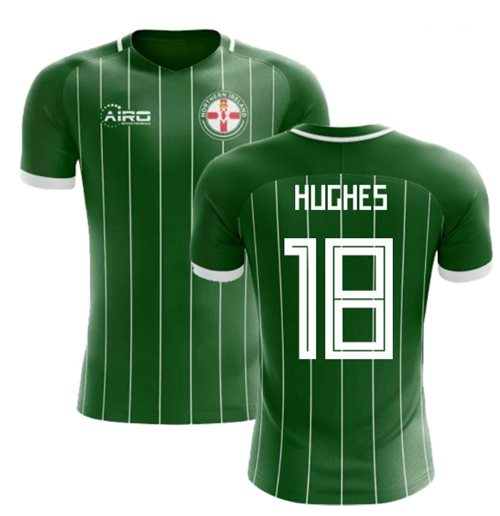 2018-2019 Northern Ireland Home Concept Football Shirt (Hughes 18)