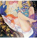 Manara Art On Canvas Klimt Gift Box Print On Canvas