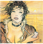 Manara Art On Canvas Sunmolly Gift Box Print On Canvas