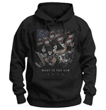 KISS: Made In The USA Hooded Sweatshirt (Unisex)