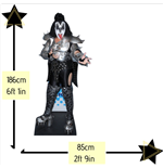 The Kiss Gene Simmons Lifesize Cutout Lifesize Silhouette