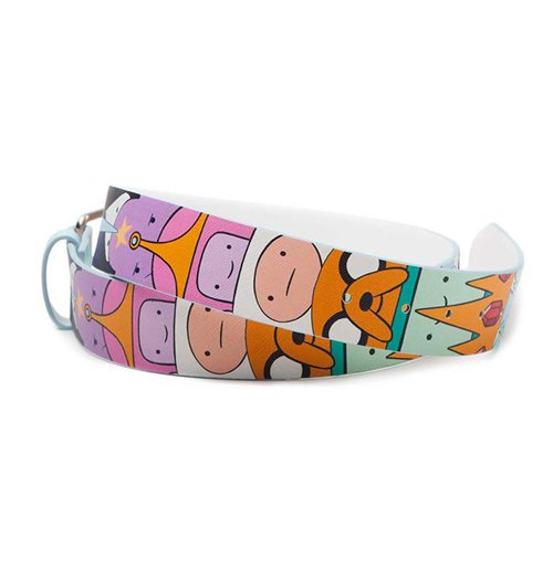 ADVENTURE TIME Characters All-over Print Belt, Unisex, Extra Large, Multi-colour