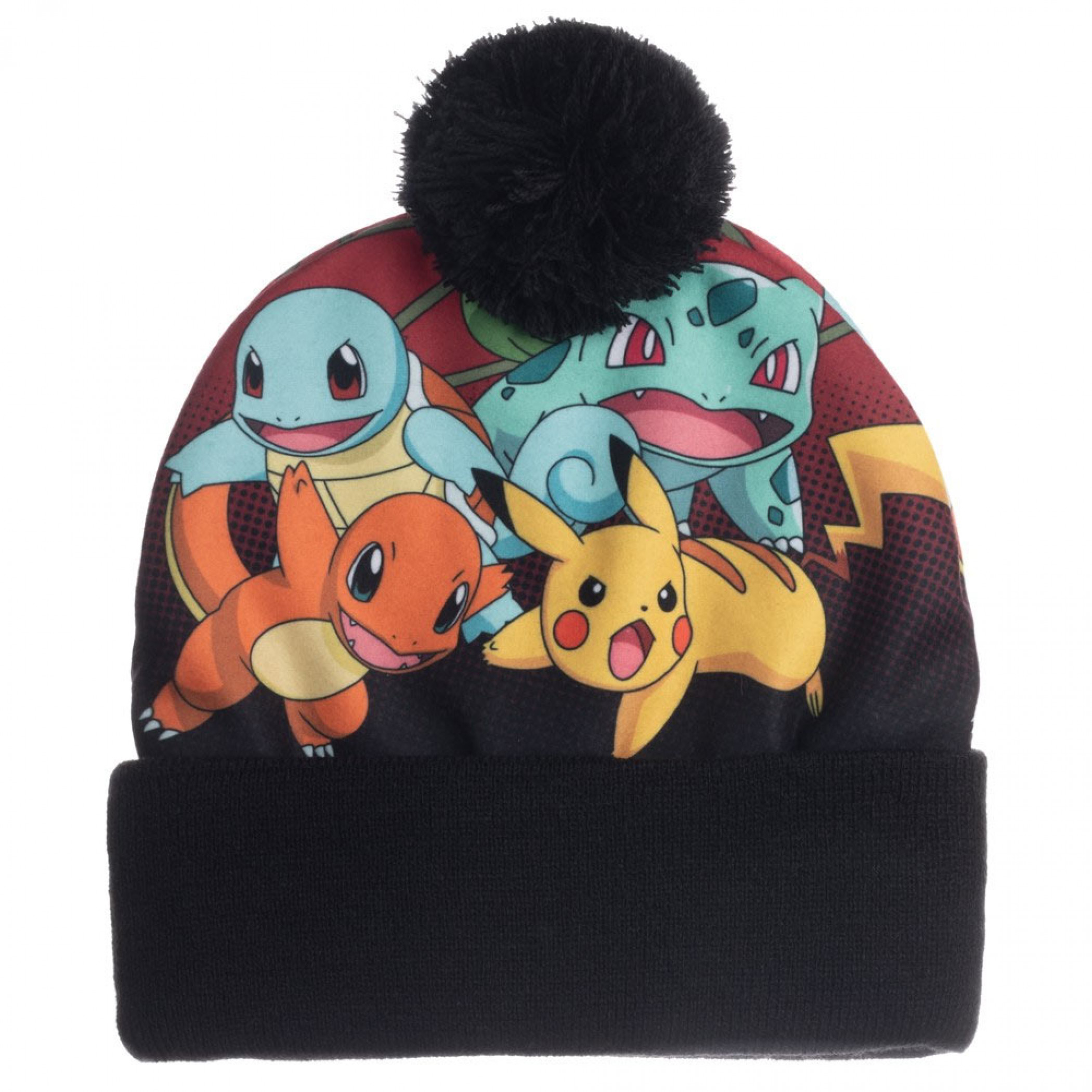 Pokemon Sublimated Crown Beanie