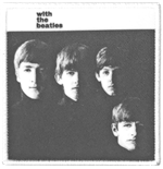 The Beatles Standard Patch: With the Beatles Album Cover (Loose)