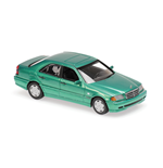 MERCEDES BENZ C-CLASS GREEN METALLIC 1997