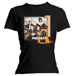 One Direction: Skinny Fit Made In The A.M. Black Women's T-shirt