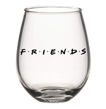 Friends Stemless 20 Oz Wine Glass