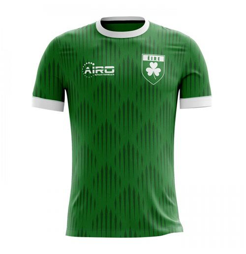 2018-2019 Ireland Home Concept Football Shirt - Adult Long Sleeve