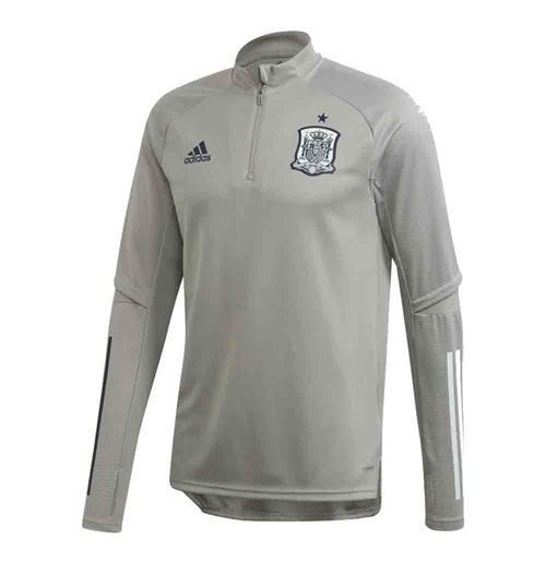 2020-2021 Spain Adidas Training Top (Grey)
