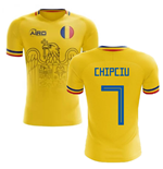 2019-2020 Romania Home Concept Football Shirt (Chipciu 7)