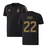 2019-2020 Real Madrid Adidas Training Tee (Black) (ISCO 22)